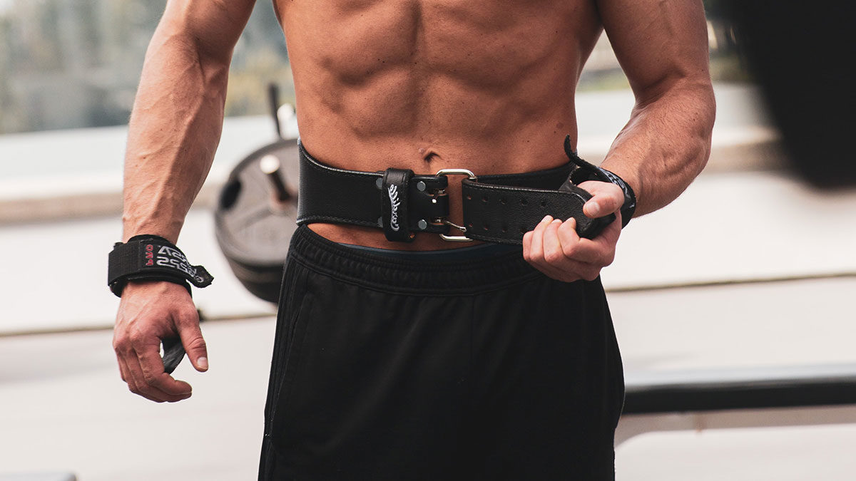 SPORTS Gewichthebergürtel Bodybuildinggürtel Kraftsport Trainingsgürtel Gym C.P